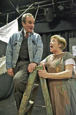 "Theater review: ""Grandma Moses: An American Primitive"" at the Oldcastle Theatre"
