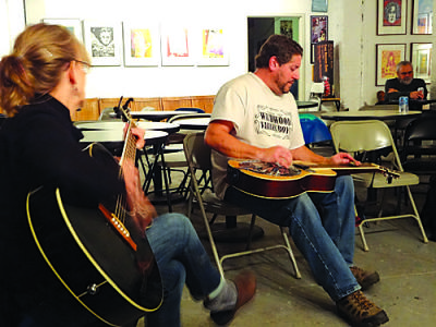 Feature: Bluegrass jams at the VAE