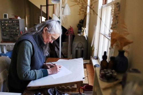 Feature: Calligrapher Ann Kremers