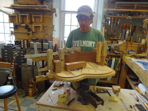 Feature: Guitar builder Steve Sauve